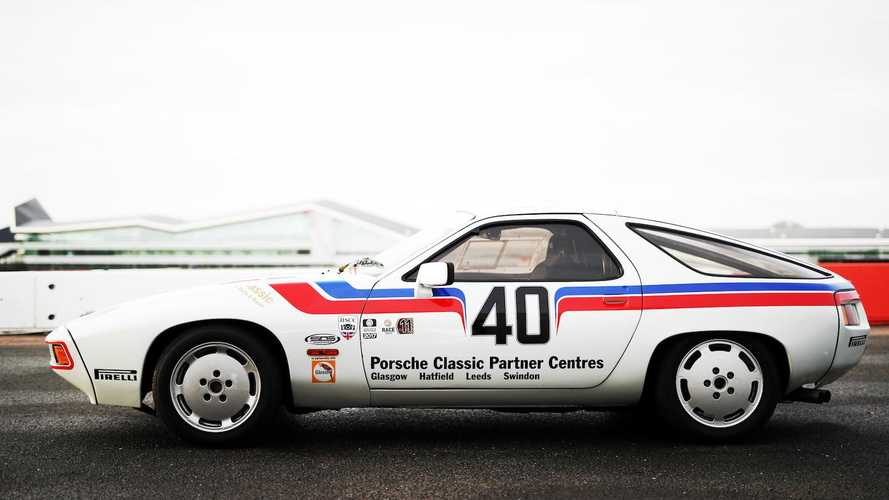 Driving Richard Attwood's Porsche 928 racer