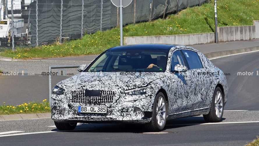 La Mercedes-Maybach Classe S réapparaît