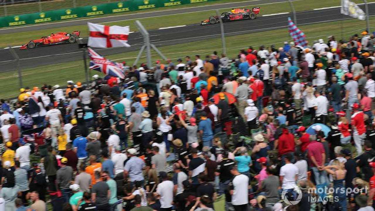 Spectators at British GP 2019 Silverstone