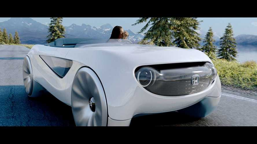 Спидстер Honda с умным рулем приучит водителей к автопилоту