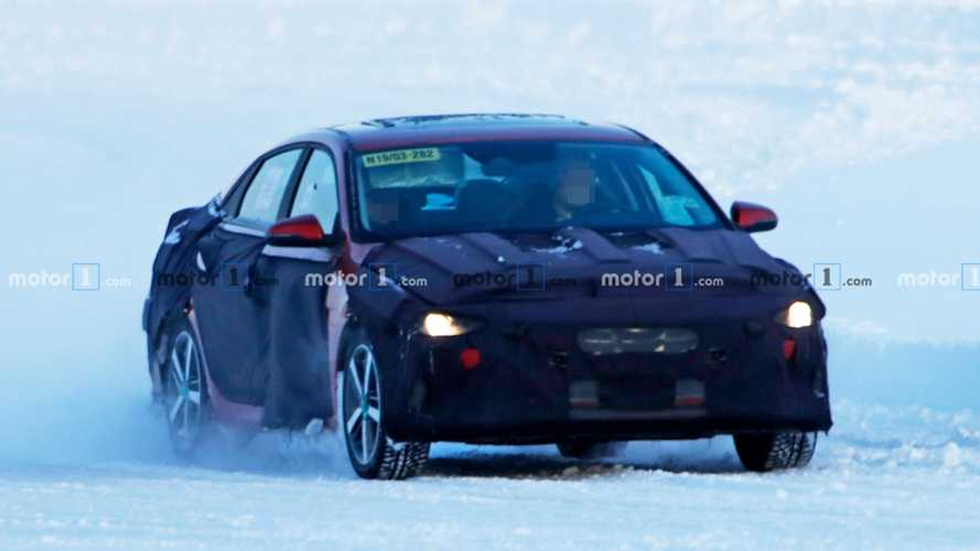Hyundai Elantra New Spy Photos