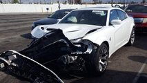Crashed 2020 Dodge Charger SRT Hellcat Widebody Daytona 50th Anniversary Edition for sale