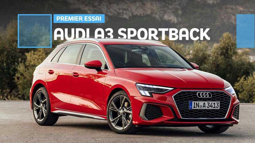 Essai Audi A3 Sportback (2020) - Premier contact avec la compacte allemande