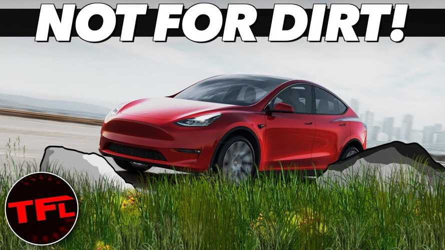 Don't Take The Tesla Model Y Off-Roading, Wait For The Cybertruck