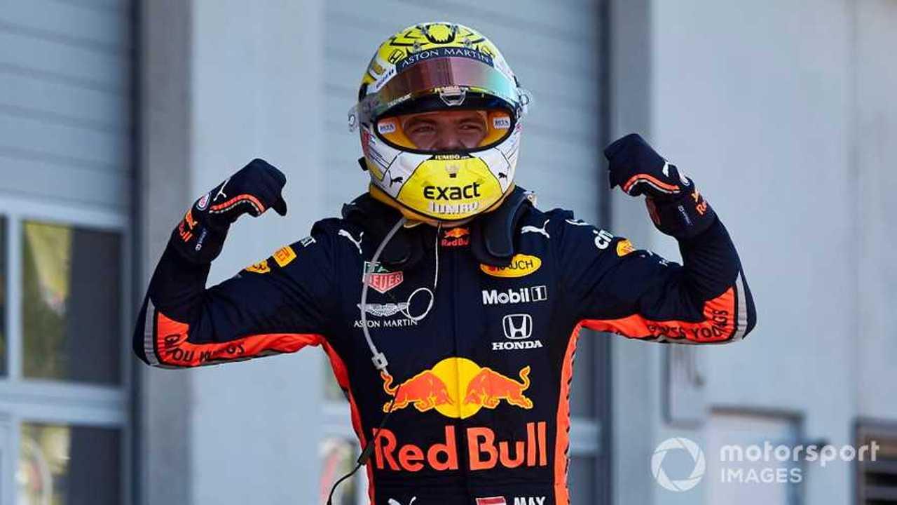 Max Verstappen race winner at Austrian GP 2019
