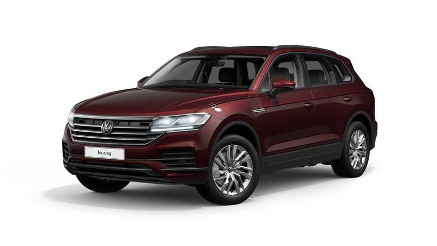 VW expands Touareg range in the UK with three new versions