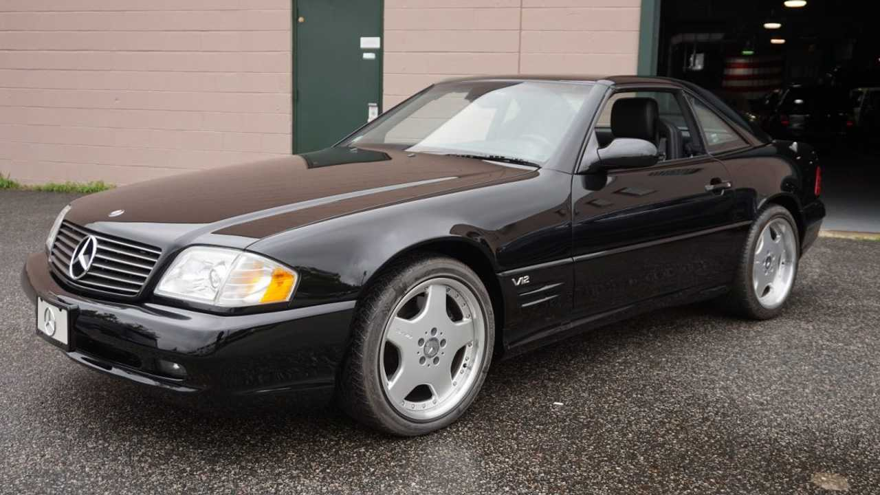 2001 Mercedes SL 600 for sale