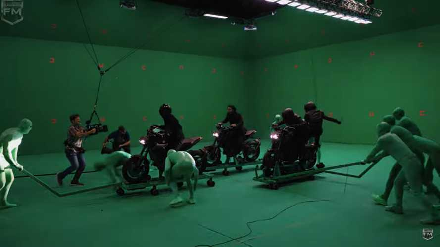 Motorcycles And Swords: Behind That 'John Wick 3' Chase Scene