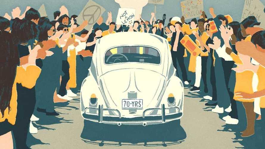 VIDÉO - Un dernier au revoir à la Volkswagen Coccinelle