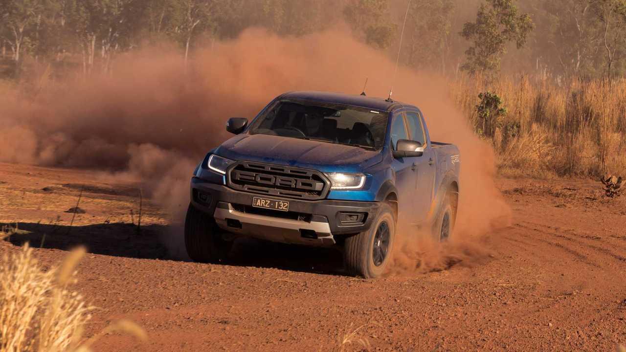 Ford Ranger Raptor versione australiana