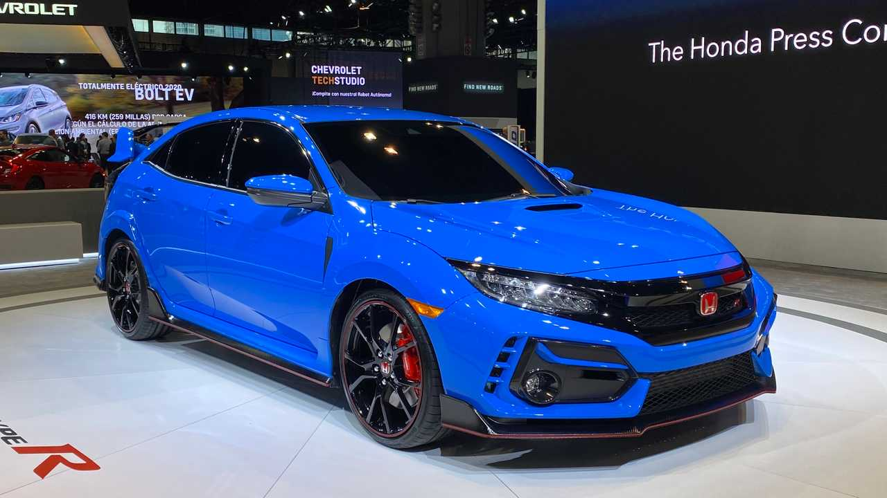 2020 Honda Civic Type R Looks Blue For Its Chicago Debut