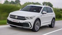 2021 VW Tiguan rendering