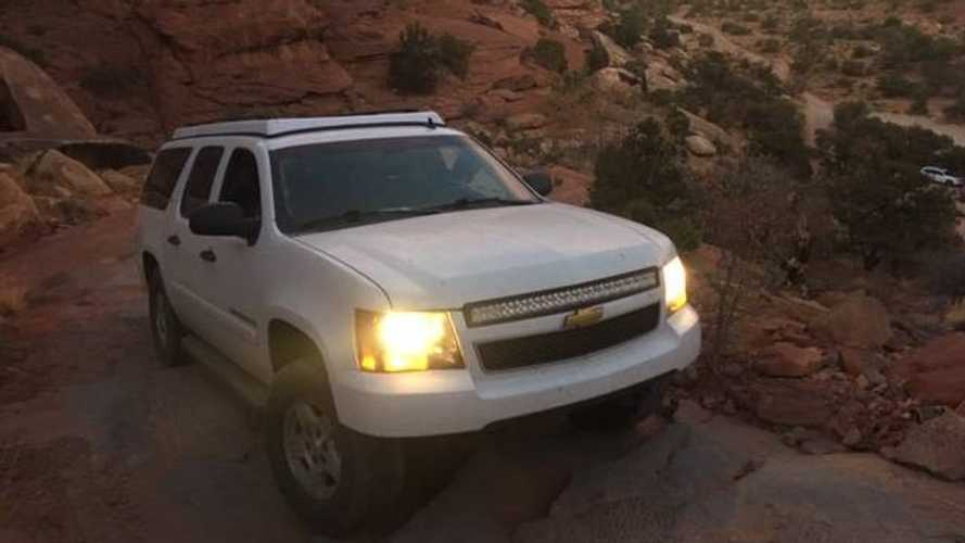 2009 Chevy Suburban pop-top camper for sale