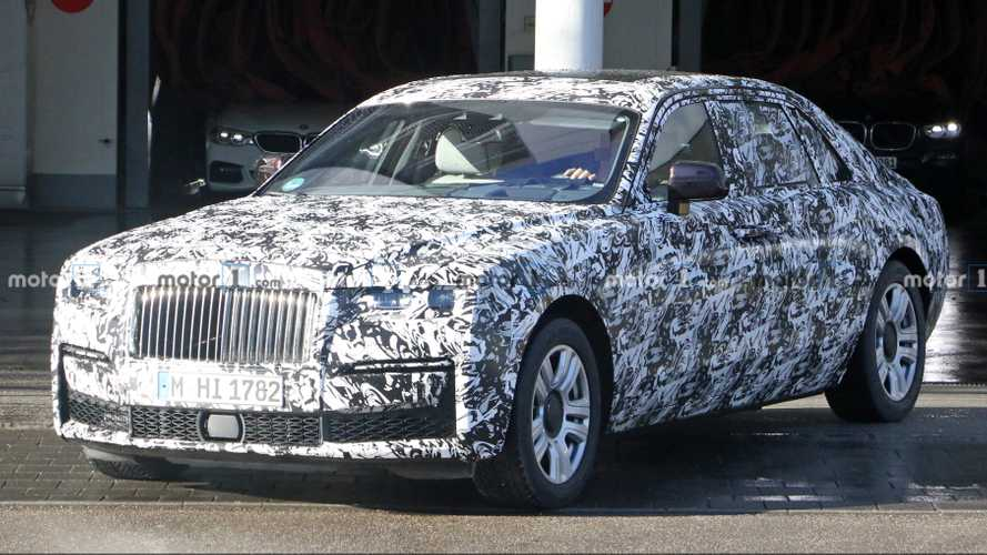 Rolls-Royce Ghost Spied Looking Nearly Ready For Production