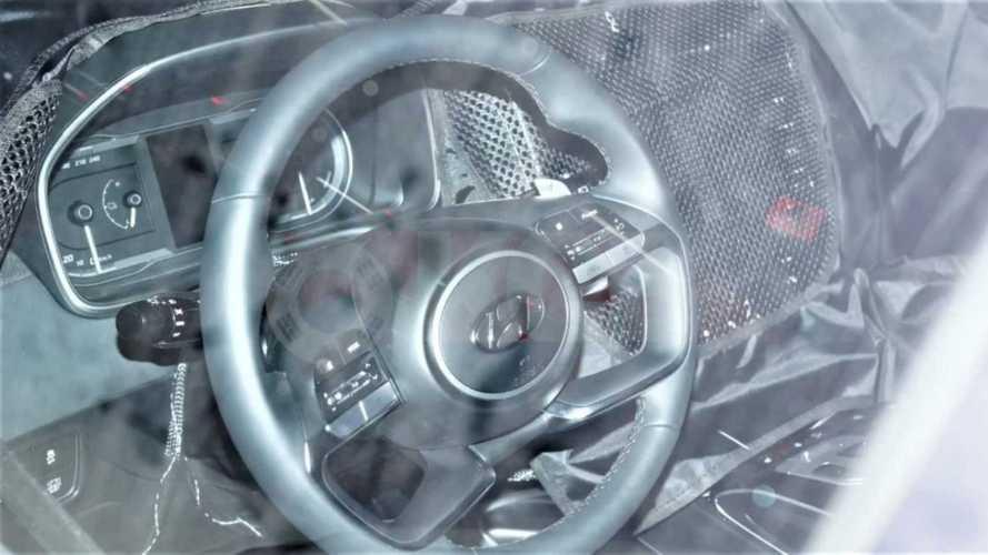 Novo Hyundai Tucson 2021: flagra revela detalhes do interior