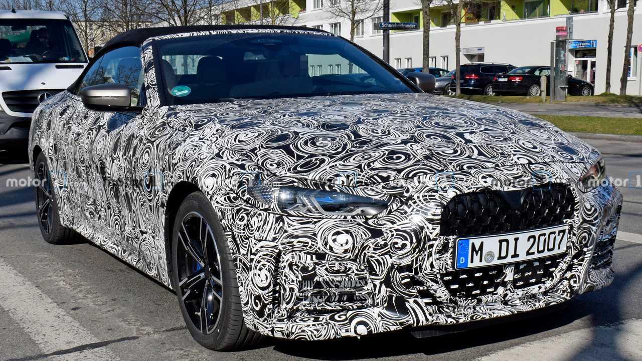 2021 BMW 4 Series Convertible new spy photo