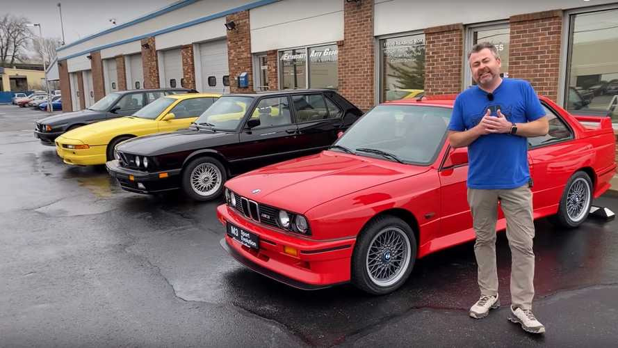 Here Are Some Of BMW's Greatest Hits On Video, Including Rare 850CSi