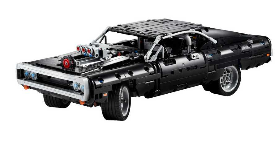 Dom's Dodge Charger From The Fast And The Furious Gets The Lego Treatment