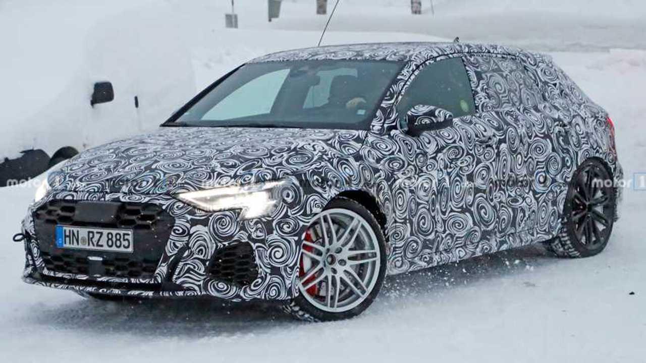 New Audi RS3 Spy Photos