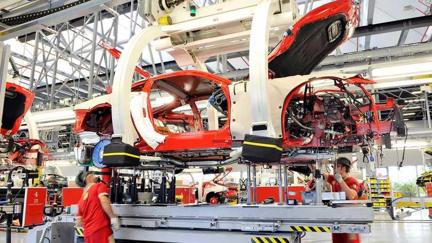 Così FCA e Ferrari preparano la ripartenza, fra app e protezioni