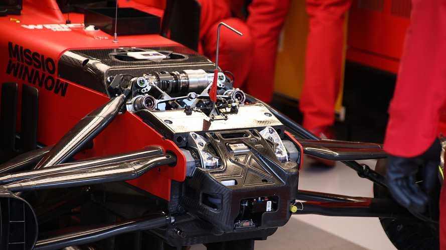 F1, Ferrari: il sistema Ackermann c'è anche sulla SF1000