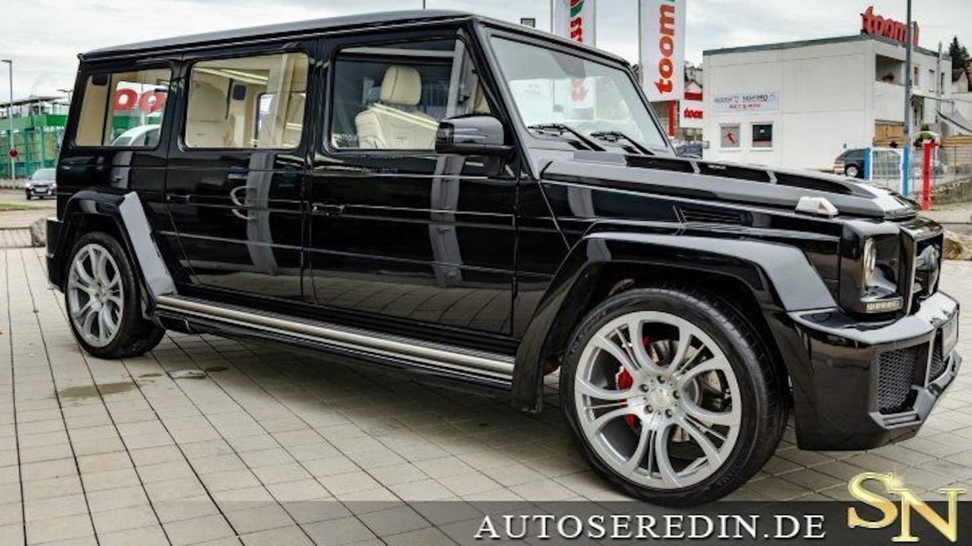 Mercedes-AMG G63 Off-Road Limo Sells For $551,000