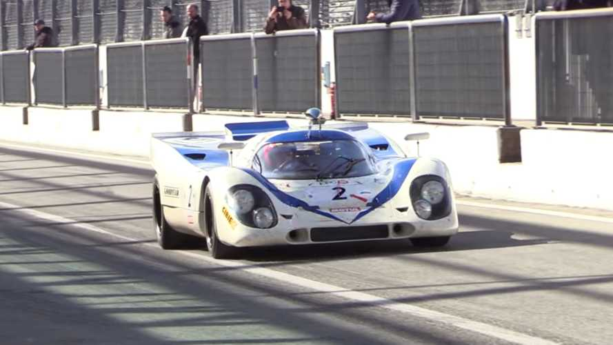 Watch A Porsche 917K Hit The Track