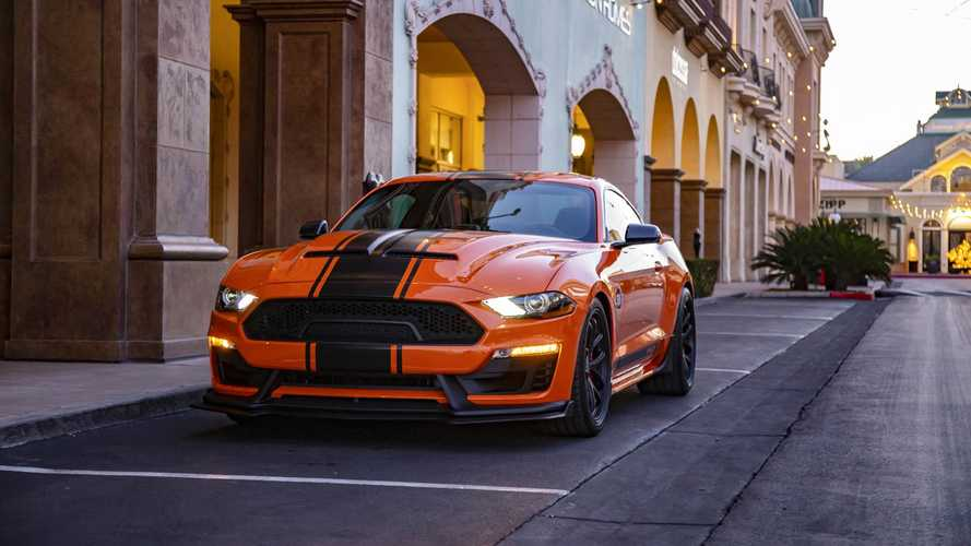 2020 Shelby Super Snake с ретропакетом Bold Package