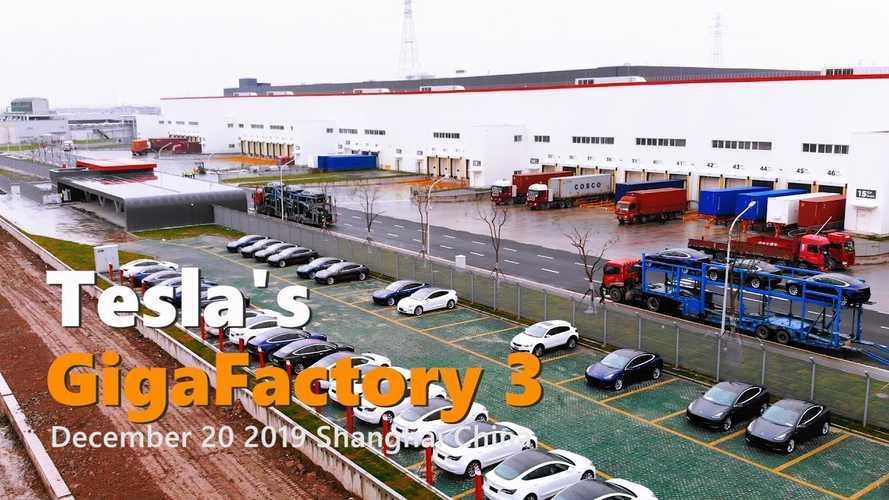 Tesla Gigafactory 3 Construction Progress December 20, 2019: Video