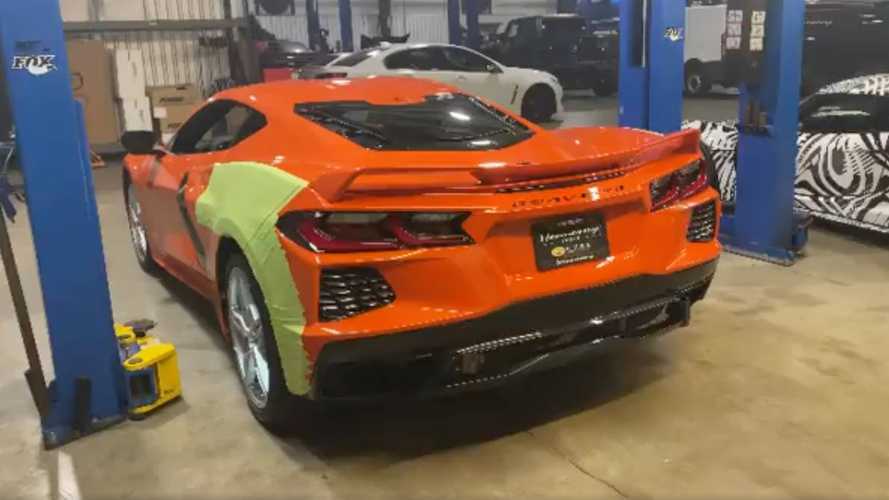 Twin-turbo Chevy Corvette C8 by Hennessey sounds demonic