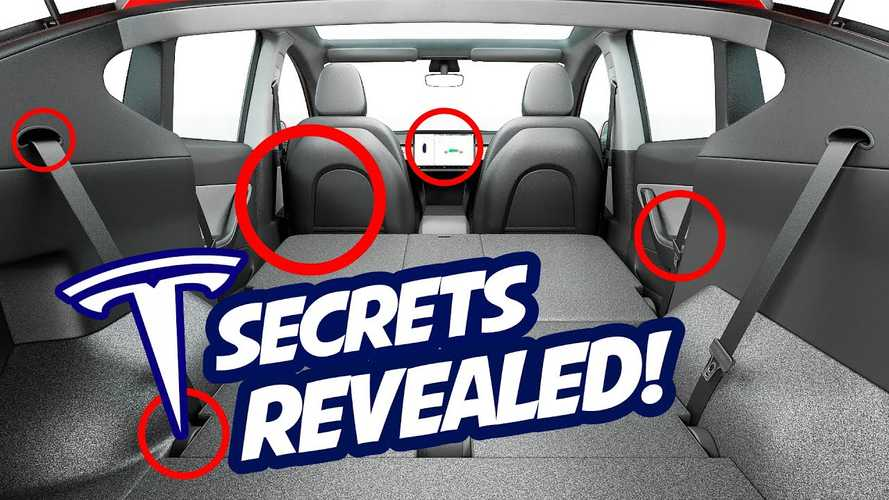 Video: Tesla Model Y Secrets Exposed