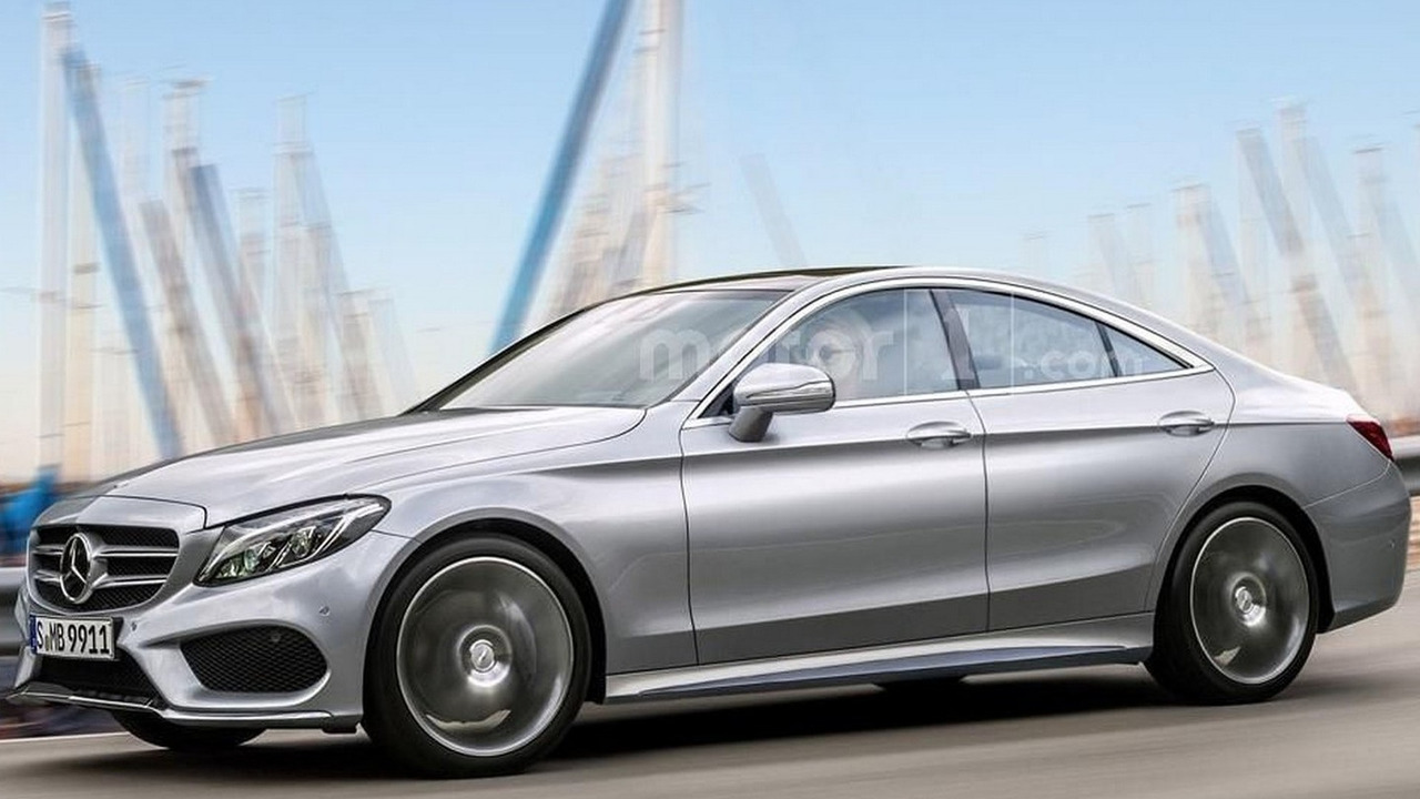 Mercedes CLC render