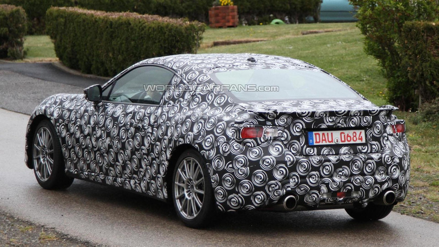 Toyota FT-86 spied in Germany