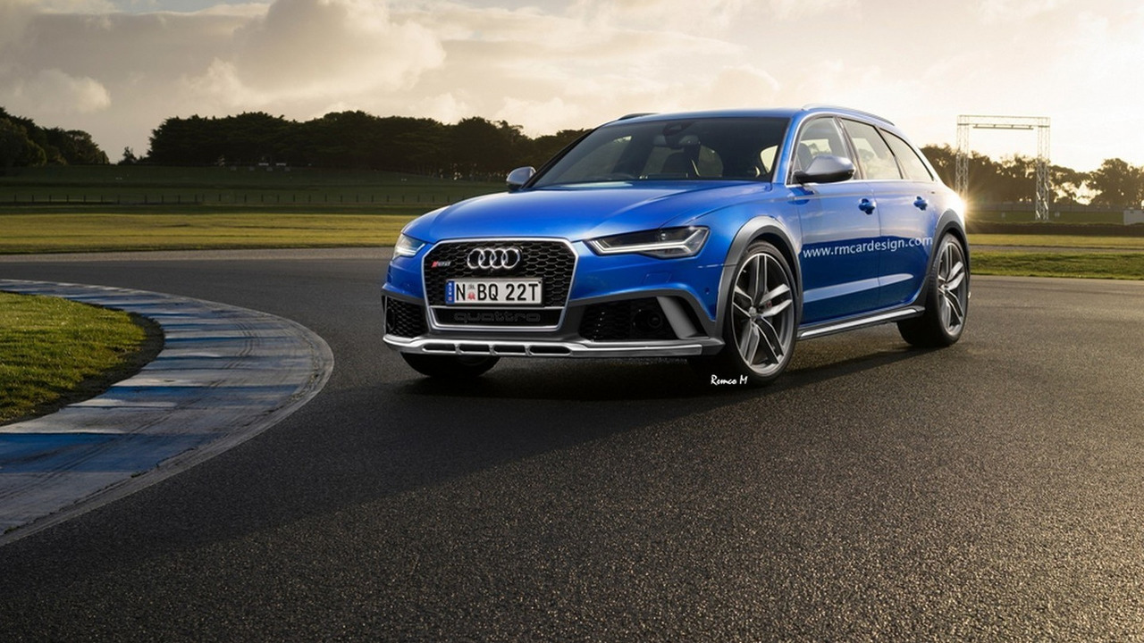 Audi RS6 Allroad render