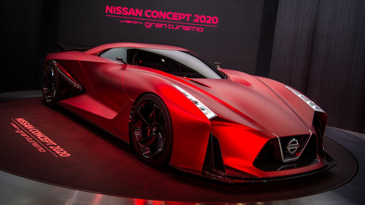 Nissan displays the updated Concept 2020 Vision Gran ...