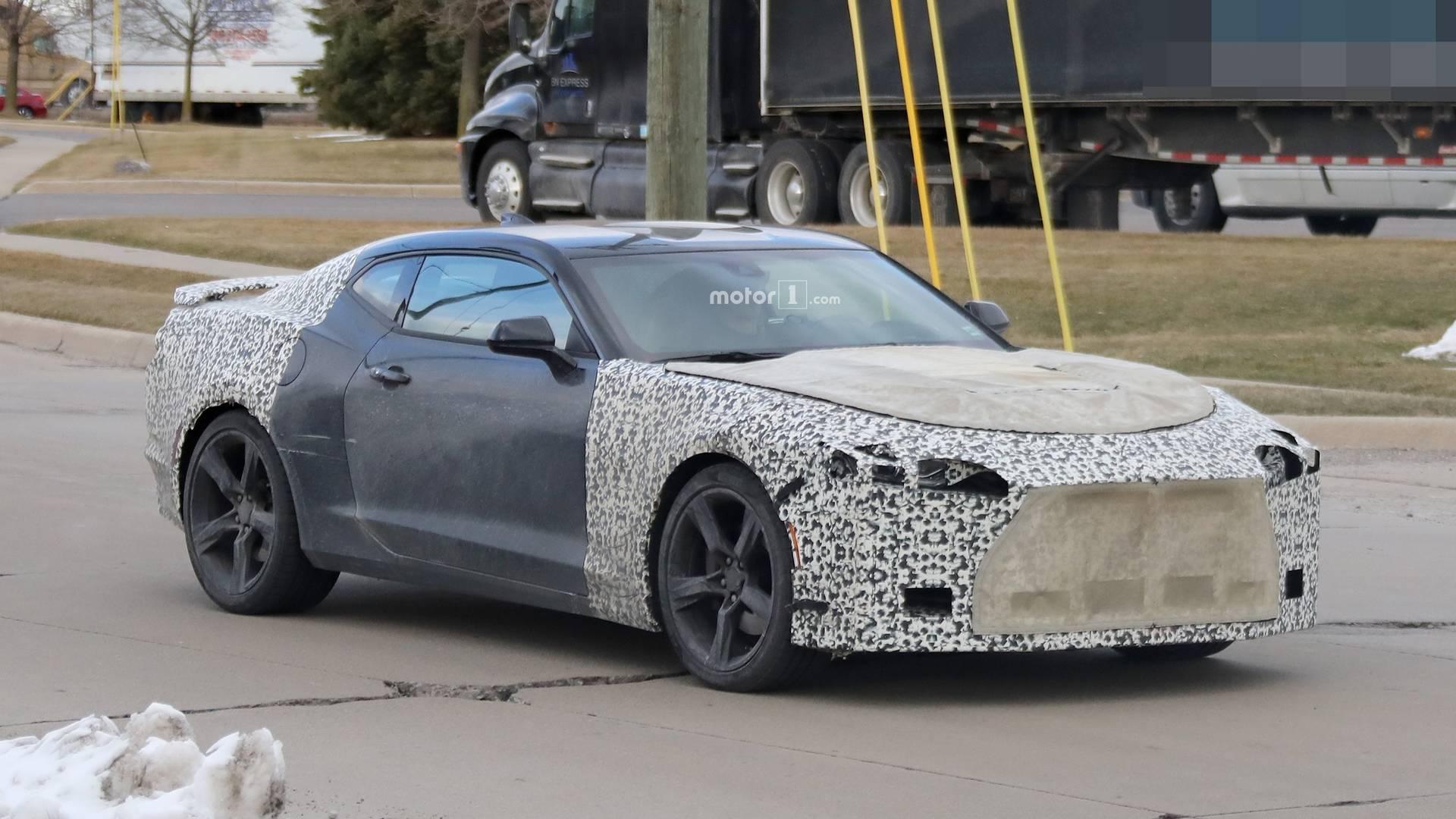 2019 Chevy Camaro Spied Showing Off Its Interior