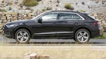 Audi Q8 - Flagra sem camuflagem