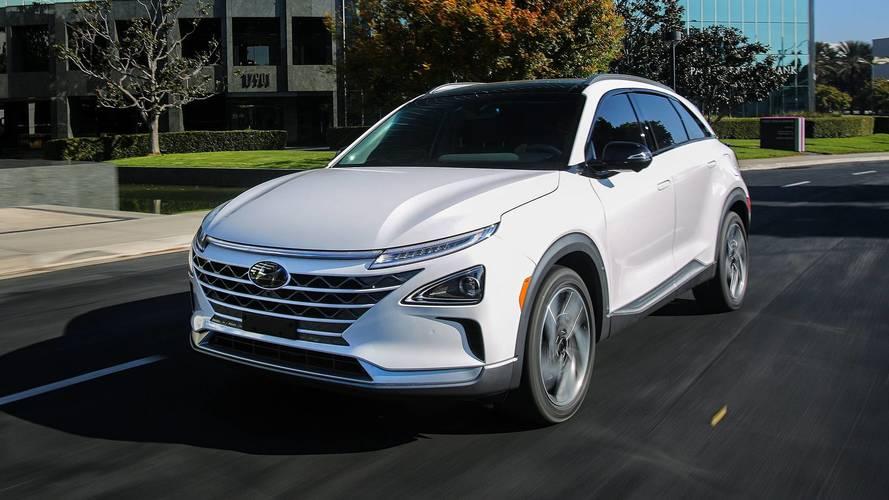 Kia suspende carro a hidrogênio com base no Hyundai Nexo
