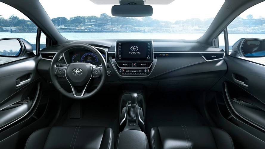 2019 Toyota Corolla Hatchback Gets Sharper Looks New Platform