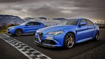 Alfa Romeo Giulia vs Stelvio Drag Race
