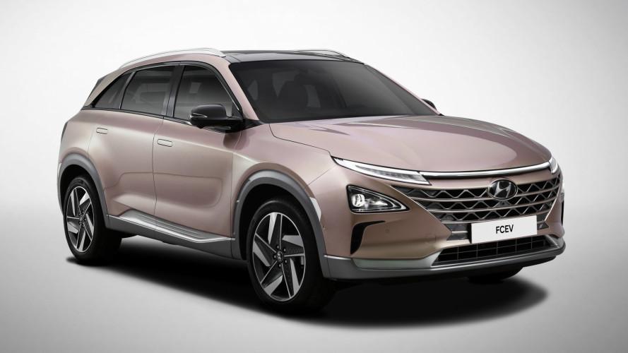 Hyundai, il nuovo SUV a idrogeno al CES 2018