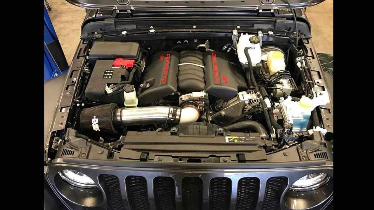 2018 Jeep Wrangler LS3 Conversion