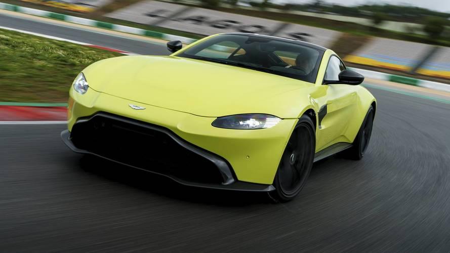 2019 Aston Martin Vantage First Drive Fun In No Sun
