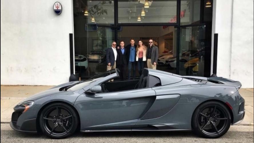 """McLaren 675LT """"senza tetto"""", ora è nel garage di Jenson Button"""