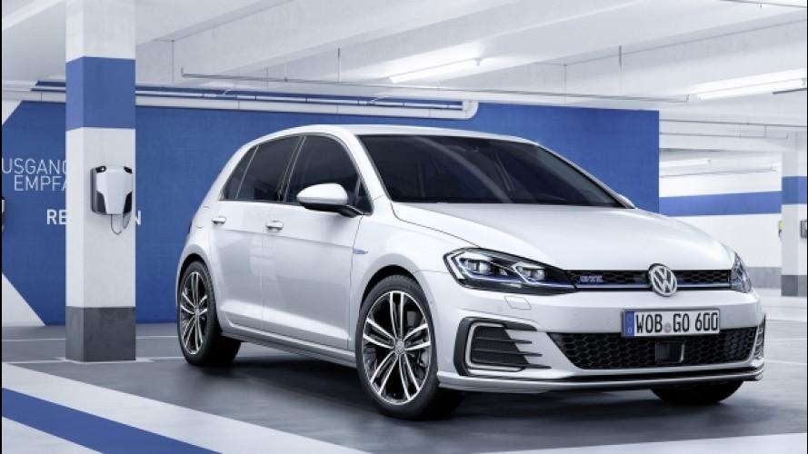 Volkswagen Golf, anche GTE e GTD si aggiornano