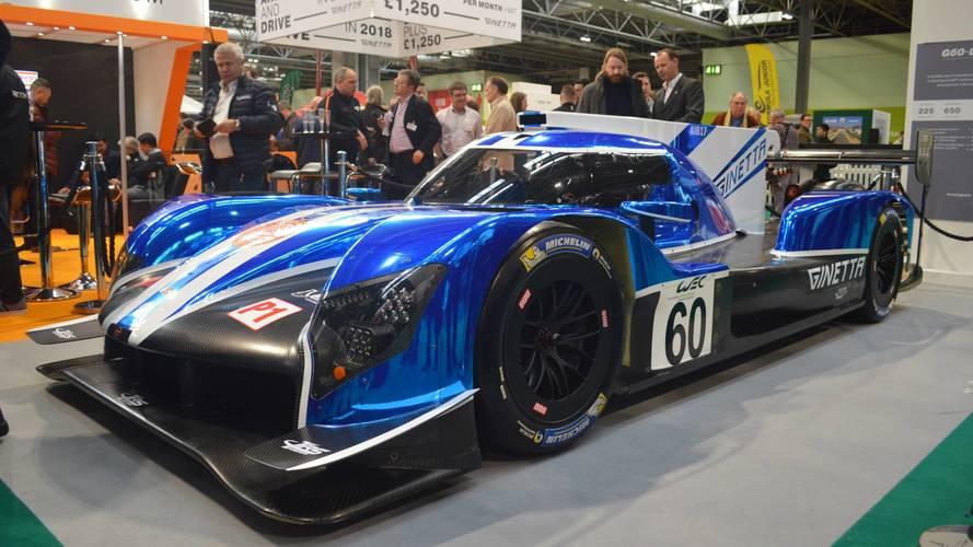 Covers come off Ginetta's new racer at Autosport International