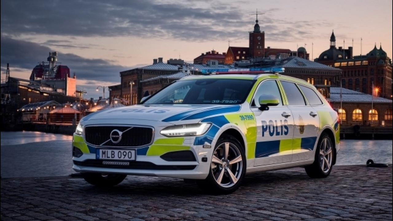 [Copertina] - La Volvo V90 è pronta a combattere il crimine