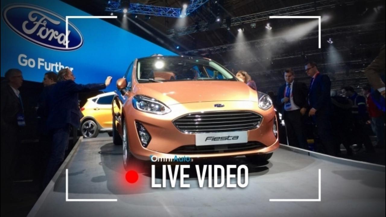 [Copertina] - Nuova Ford Fiesta, una presentazione che è una festa [LIVE]