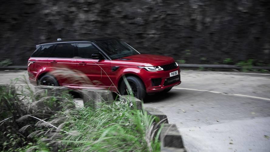 Range Rover Sport PHEV escaleras