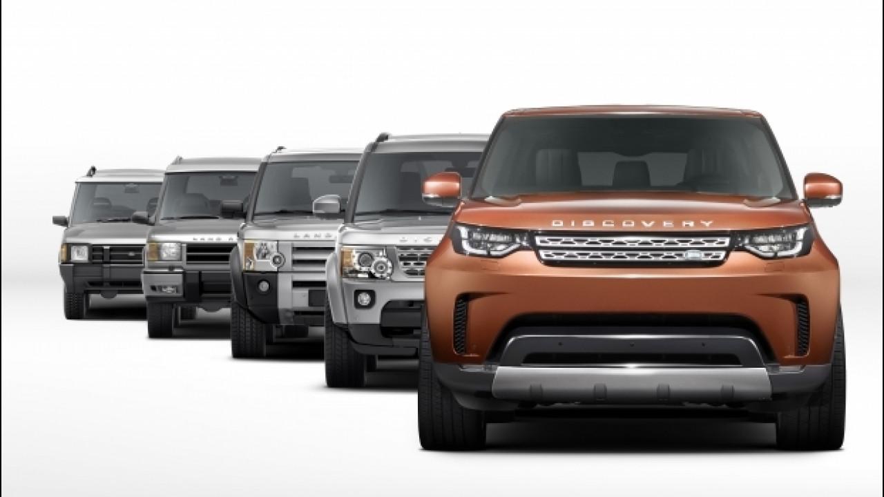 [Copertina] - Land Rover Discovery, la prima foto del nuovo modello